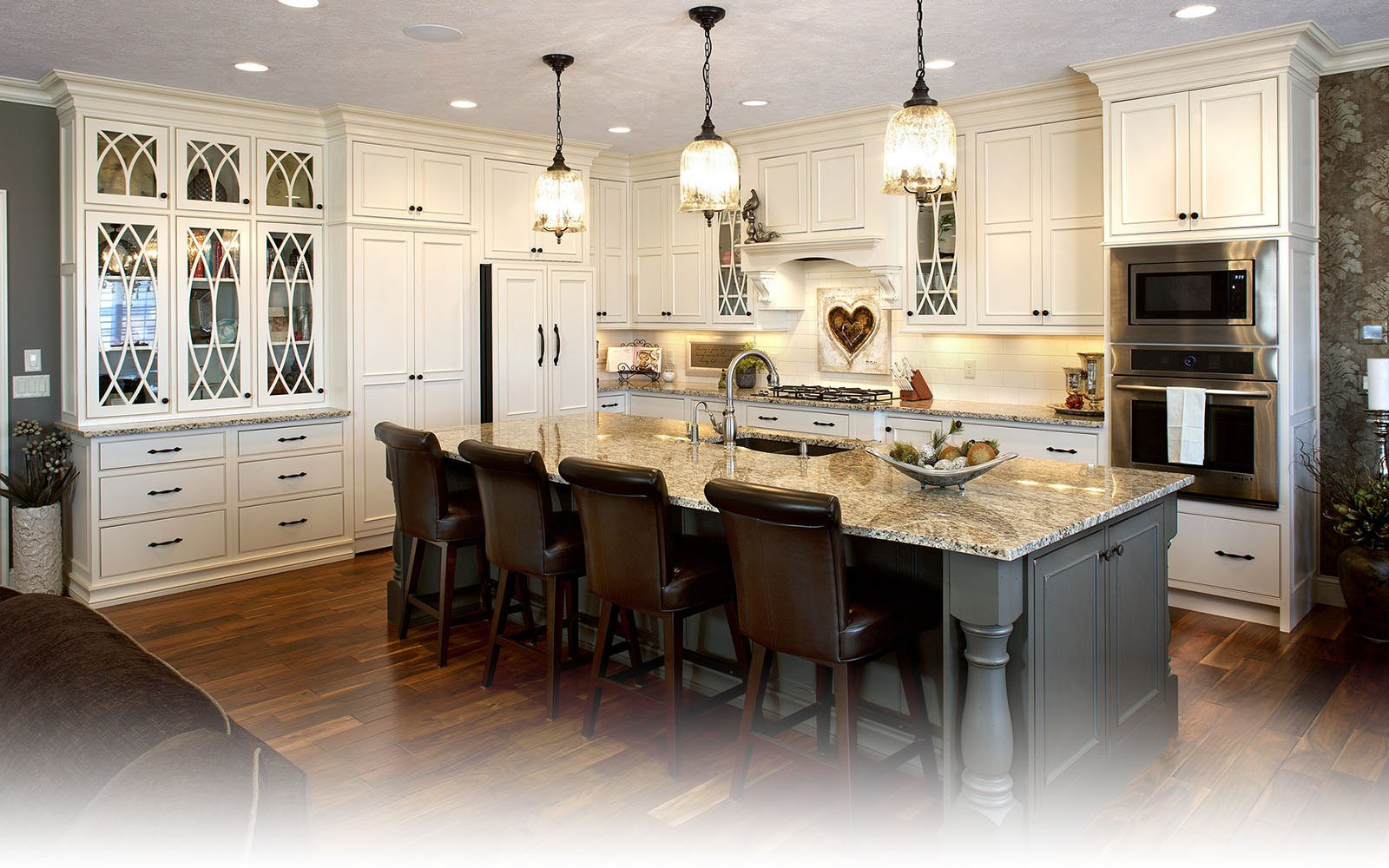 Custom Kitchen Cabinets kitchen and bath cabinets, design and remodeling - norfolk kitchen