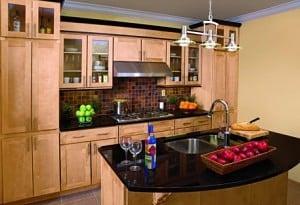 Tuscany Maple Kitchen Cabinets
