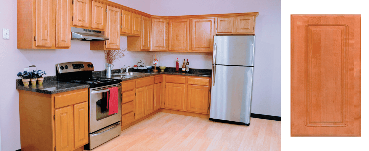 Norfolk severe use cabinets for Stock kitchen cabinets