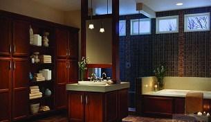 Echelon bath vanities and cabinets