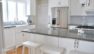 White Beach House Kitchen