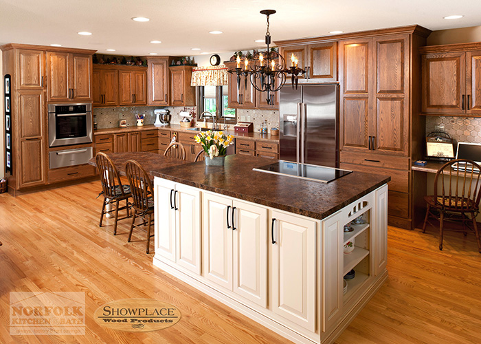 Showplace Oak Kitchens Shown In Various Door Styles And