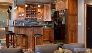 Showplace Hickory, Lyptus, and Alder kitchens