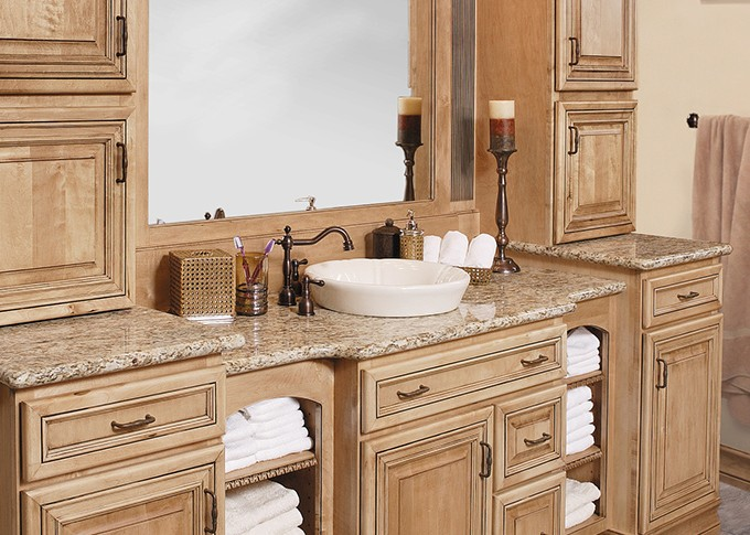 Showplace Maple vanity