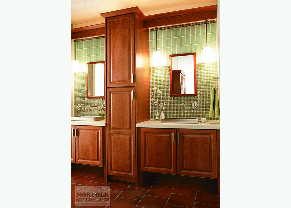 Echelon Bath Cabinets Offer A Great Look Without Breaking