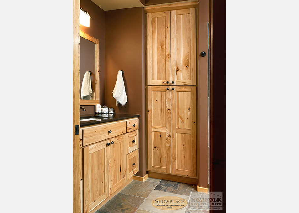 All Wood Custom Bath Cabinets Offered In Hundreds Of Styles