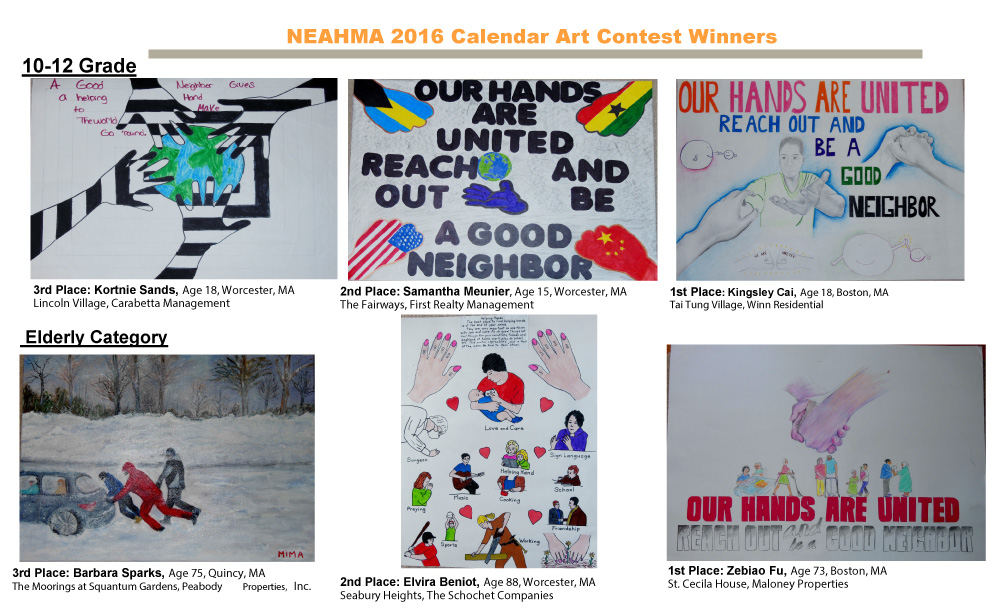 Calendar Art Contest : Neahma calendar art contest norfolk kitchen bath