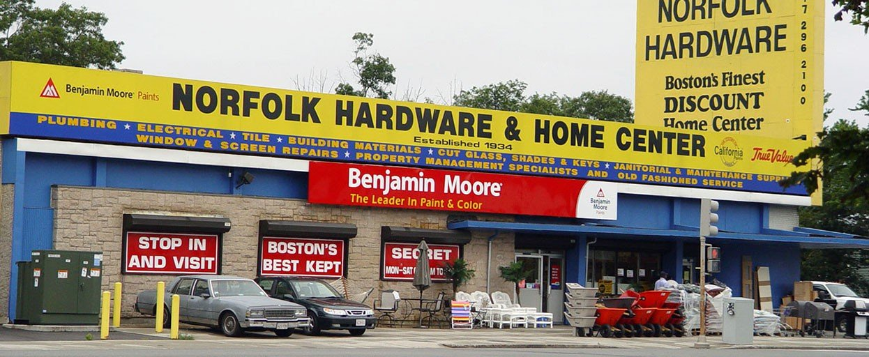 Norfolk hardware and home center boston