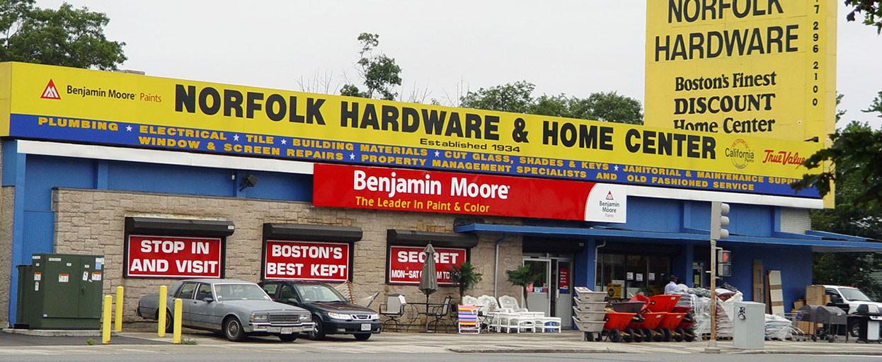 Norfolk hardware and home center boston