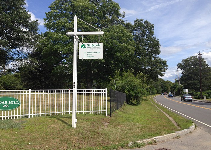 Entrance on Beaver Street in Waltham