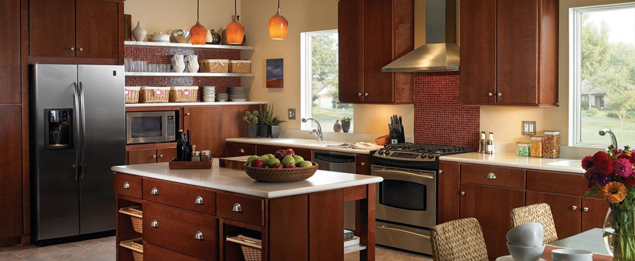 Kitchen cabinets for every style taste and budget for Kitchen pics
