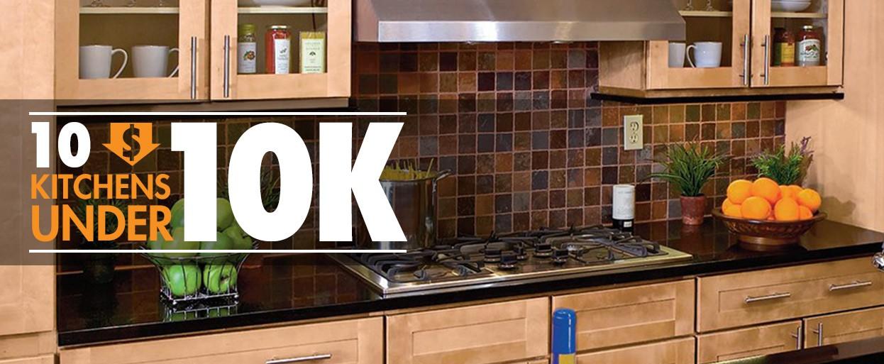 10 Kitchens Under 10000