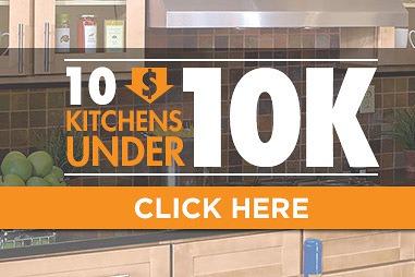 10 Kitchens Under 10K Promotion