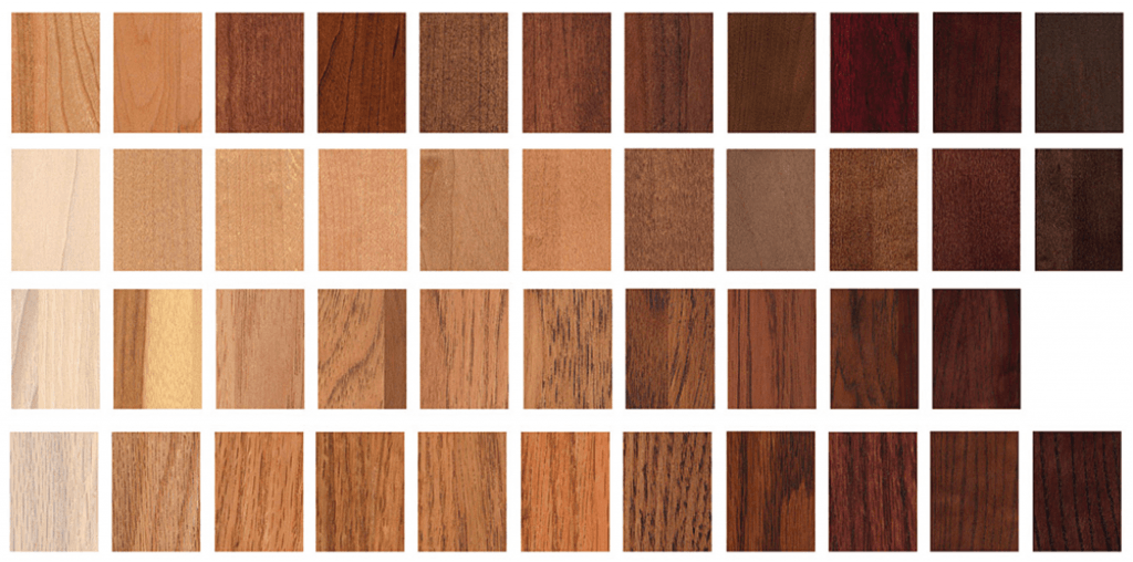 4. wood stains and finishes