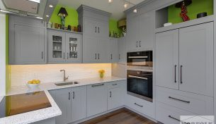 Modern Grey Kitchen Remodel