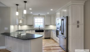 New Kitchen Design in Gilford, NH