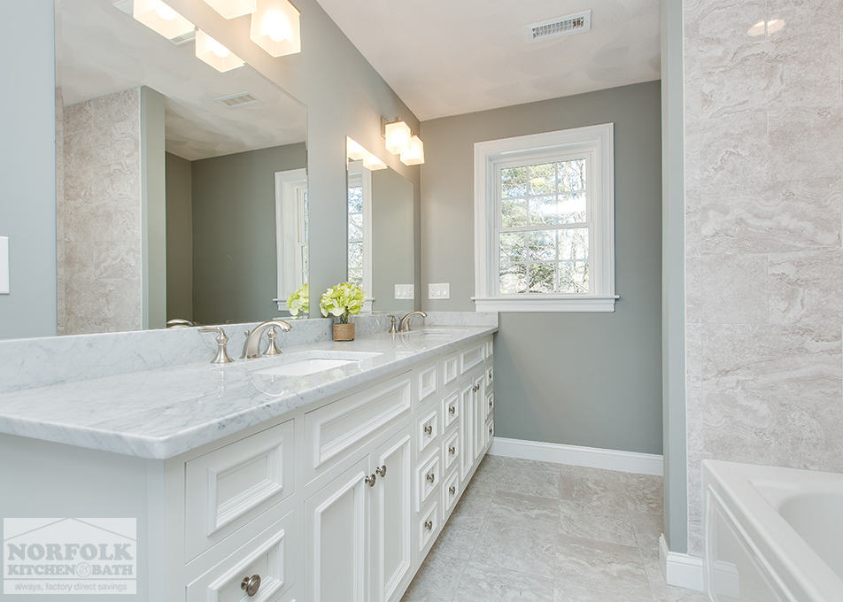 Carrara Marble Bathroom Norfolk Kitchen Amp Bath