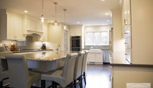 Showplace White Kitchen
