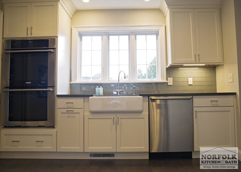 Showplace White Kitchen Norfolk Kitchen Amp Bath