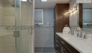 Full Bathroom Remodels With Custom Tile