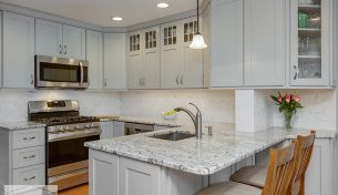 Condo Kitchen Remodel in Burlington, MA