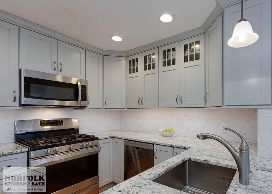 Condo Kitchen Remodel In Burlington, MA