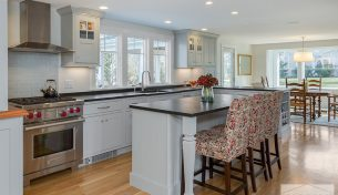 Showplace Inset Kitchen in Scituate