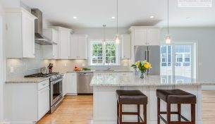 Echelon Linen Kitchen With Custom Features