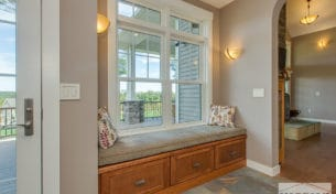 Showplace Window Bench, Kitchenette & Wet Bar