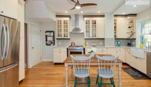 Boston Farmhouse Kitchen