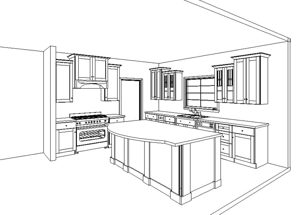 your estimate and kitchen design