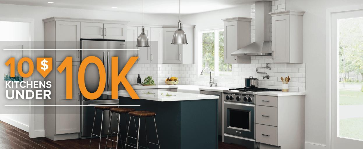 affordable kitchens under $10,000