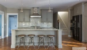 Industrial Gray Kitchen