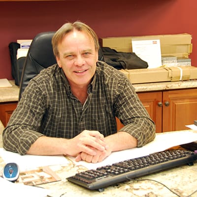 Jim Buckley, a Norfolk Kitchen & Bath builder sales rep in Salem, NH
