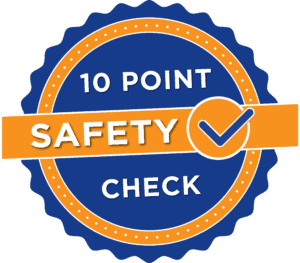 10 Point Safety Check badge