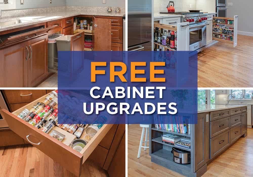 free cabinet upgrades