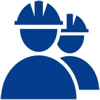icon of men with hard hats