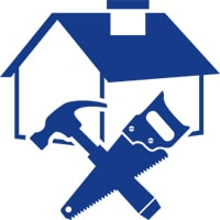 icon of a house with tools