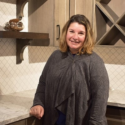 Nicole Martin, a kitchen & bath designer at Norfolk Kitchen & Bath in Nashua, NH