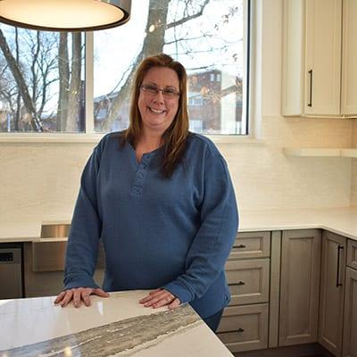Jessica Katinas, kitchen & bath designer