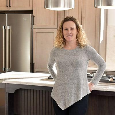 Lindsay Morgan, kitchen & bath designer