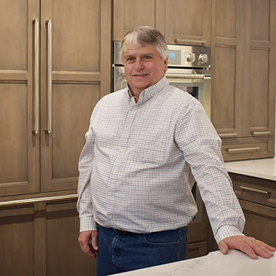 Mark Johnson, kitchen & bath designer at Norfolk Kitchen & Bath Framingham