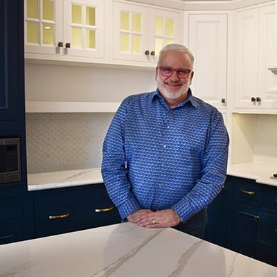 Tony Izzo, Regional Sales Manager of Norfolk Kitchen & Bath of Massachusetts