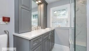 Gray Master Bath Remodel
