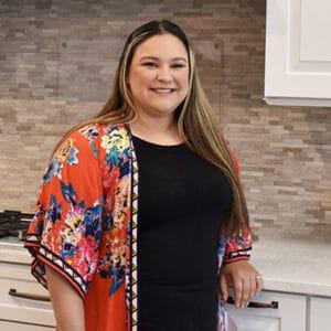 Adrianna, showroom coordinator at Norfolk Kitchen & Bath Manchester