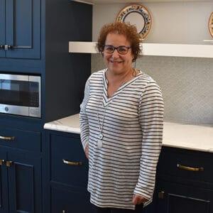 Darby Kominik, a kitchen & bath designer at Norfolk Kitchen & Bath Braintree, MA