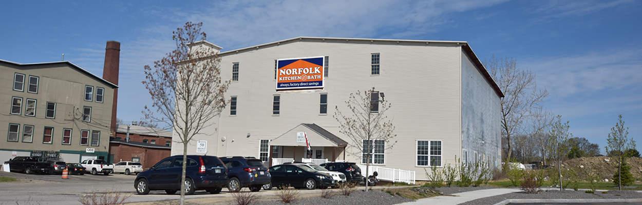 Norfolk Kitchen & Bath Nashua showroom exterior