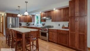 Maple Craftsman Kitchen - Pepperell, MA
